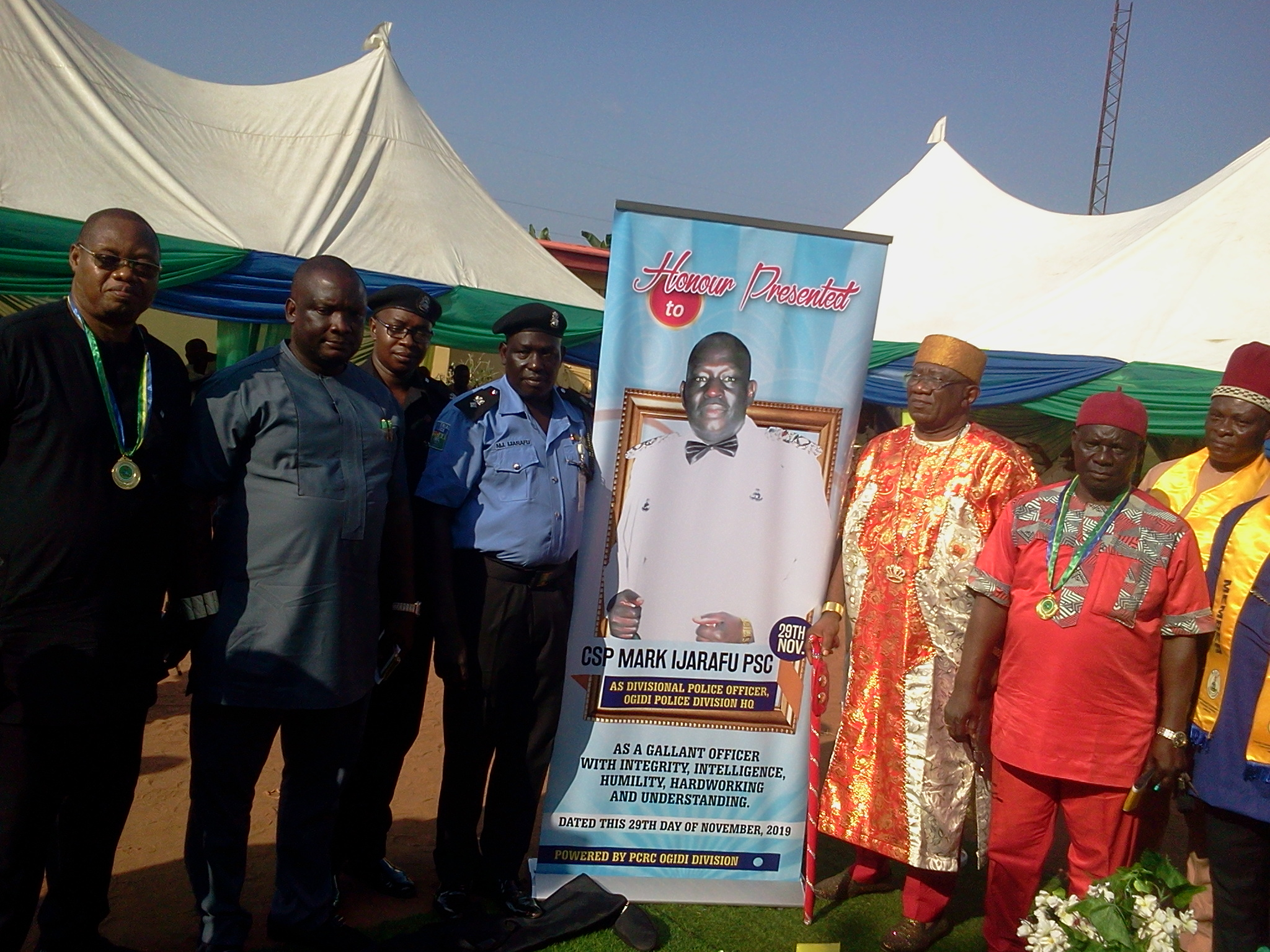 PCRC Calls on individuals to assist in funding the Nigerian Police, Awards deserving individuals