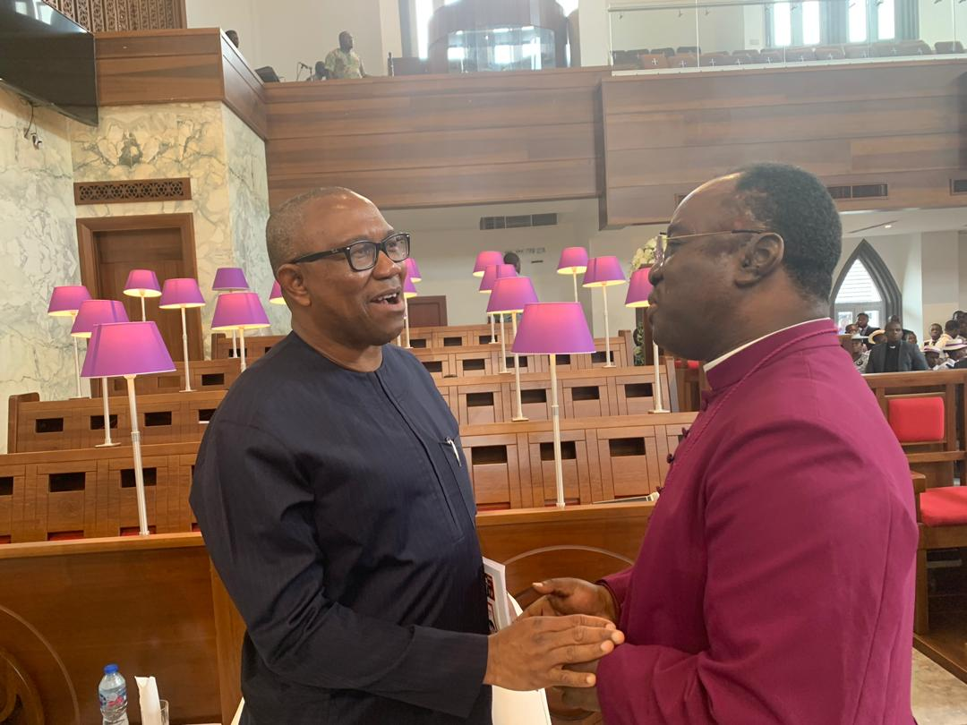 Obi advises the Church to be more Critical in the fight Against corruption