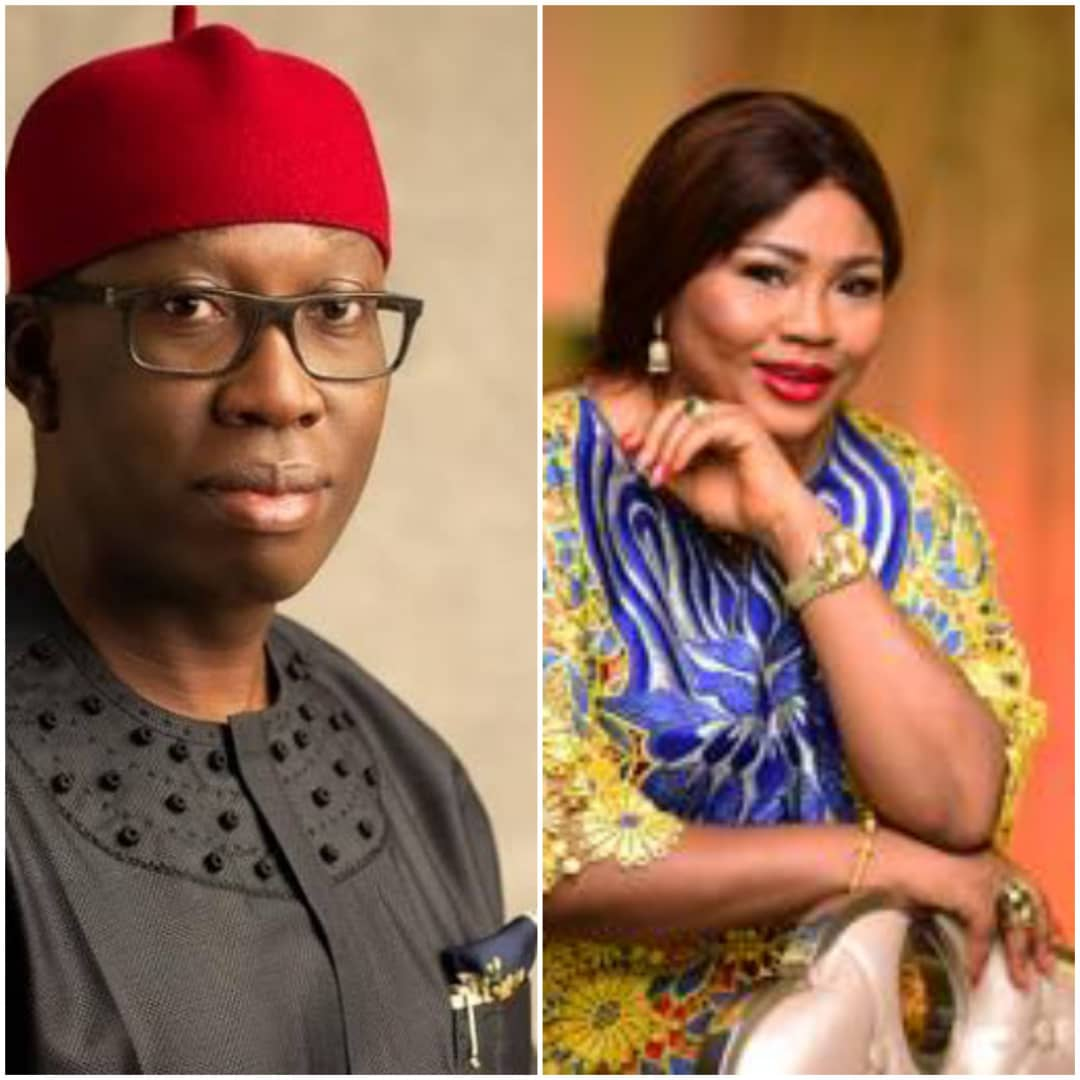 Celebrity Actress And Producer, Rita Daniels Congratulates Governor Okowa For Supreme Court Victory