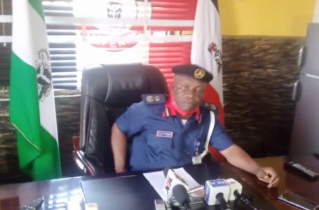 NSCDC Anambra State parades recovered 2 illegal trucks of Black oil